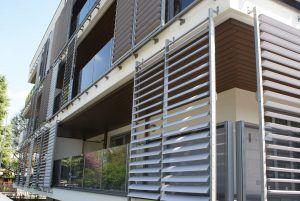 Cortina exterior fachada