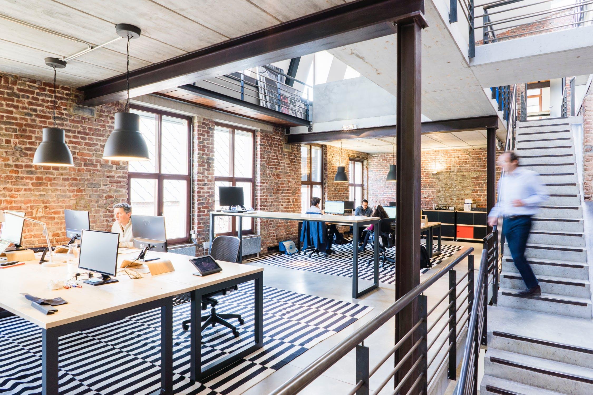 oficina estilo fabrica