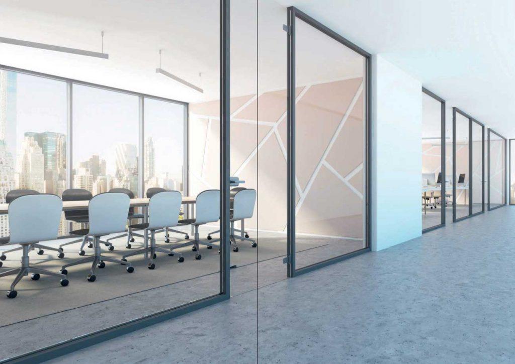 solucion economica de mamparas oficinas