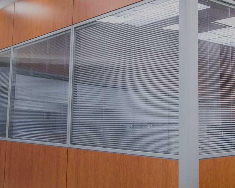 Cortinas y estores para oficinas